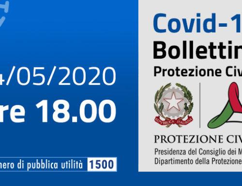 Covid-19 Italia: analisi, grafici, dati epidemiologici di oggi 24 maggio 2020
